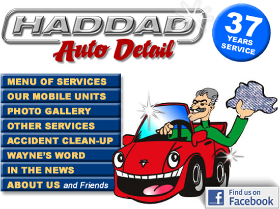 Welcome To Haddad Auto Detail